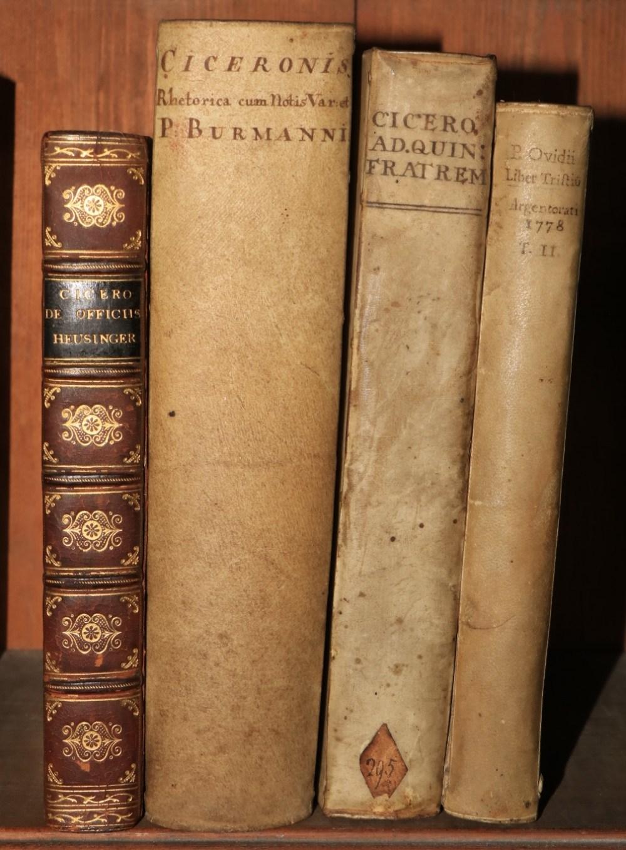 Cicero, etc: Hotomanni (Franc)ed.M. Tullii Ciceronis Epistolarum ad Quintum Fratrem Libri Tres,