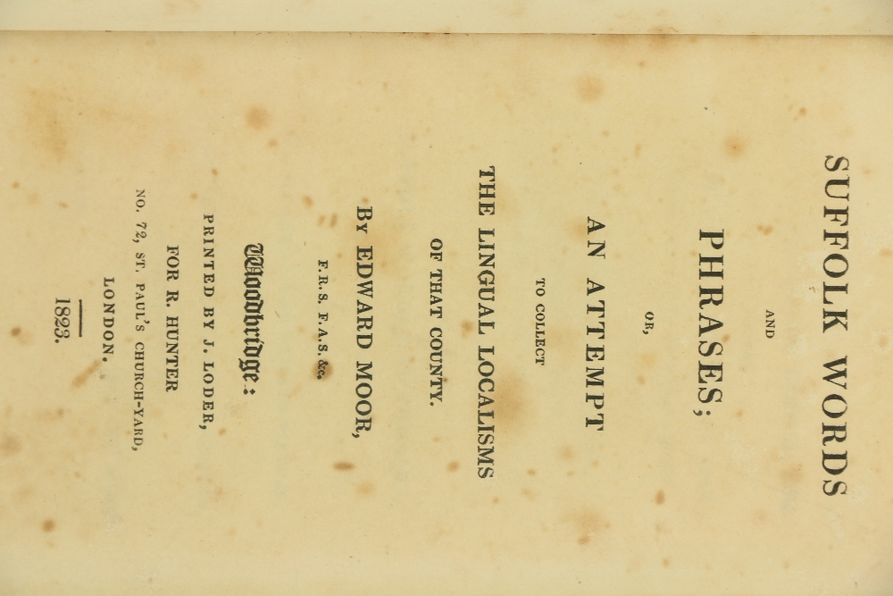 [Ford (Rev. James)] Editor.ÿThe Suffolk Garland: or A Collection of Poems, Songs, Tales, Ballads, - Image 4 of 5