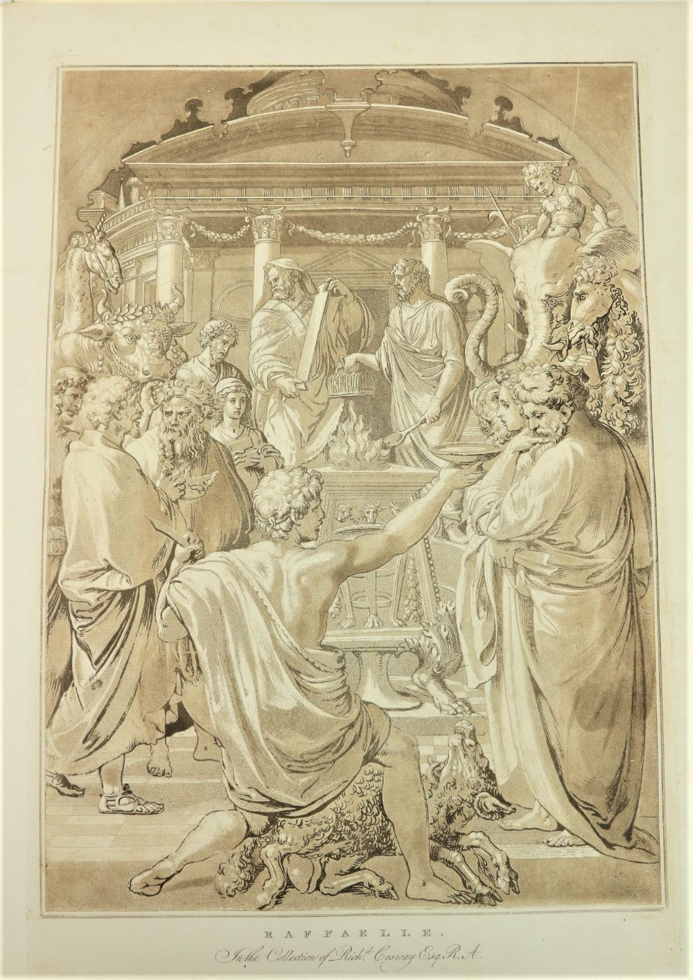 Metz (Conrad Martin)ÿImitations of Ancient and Modern Drawings, From the Restoration of The Arts - Image 2 of 2