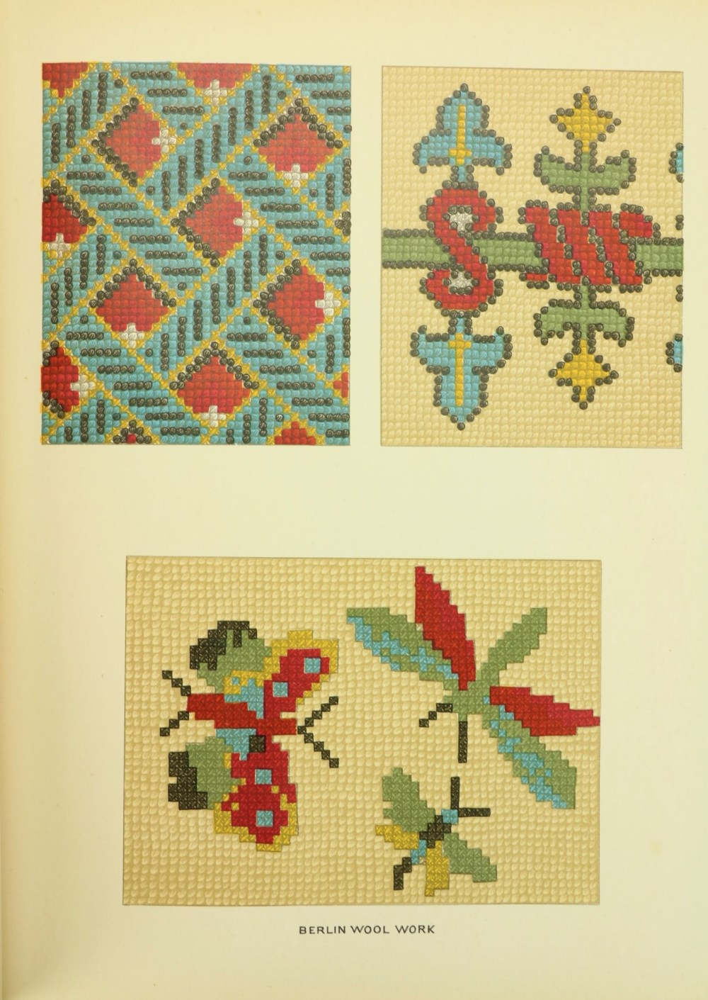 Caulfield (S.F.A.) & Seward (B.C.)TheDictionary of Needlework, thick 4to Lond. n.d.Second Edn., - Image 5 of 5