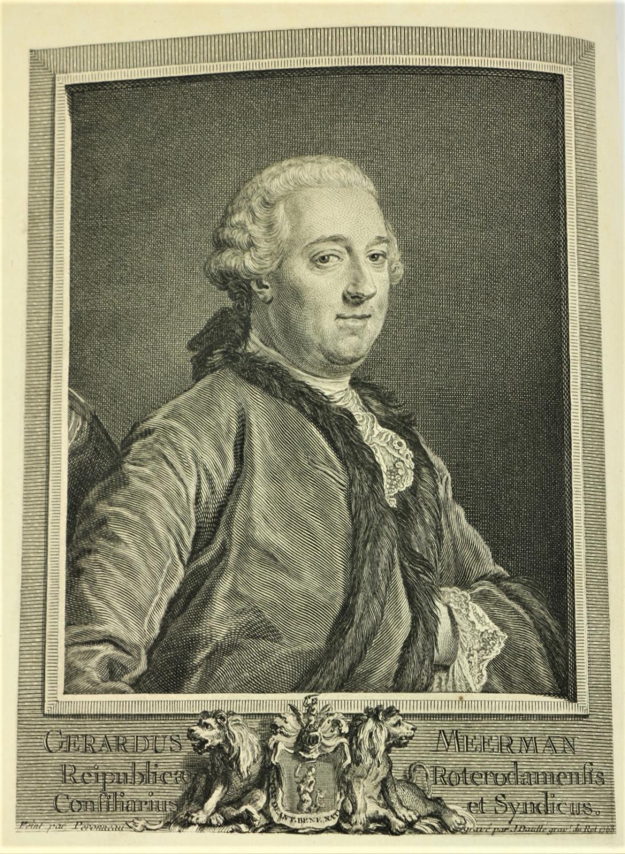 Bibliogrpahy: Meerman (Gerald)Origines Typographicae, 2 vols. in One, 4to The Hague, Paris & Lond. - Image 2 of 3