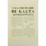 The Roman Republic of 1848 - 1849 Ephemera:An important collectionÿof 18 leaflets or broadsides,