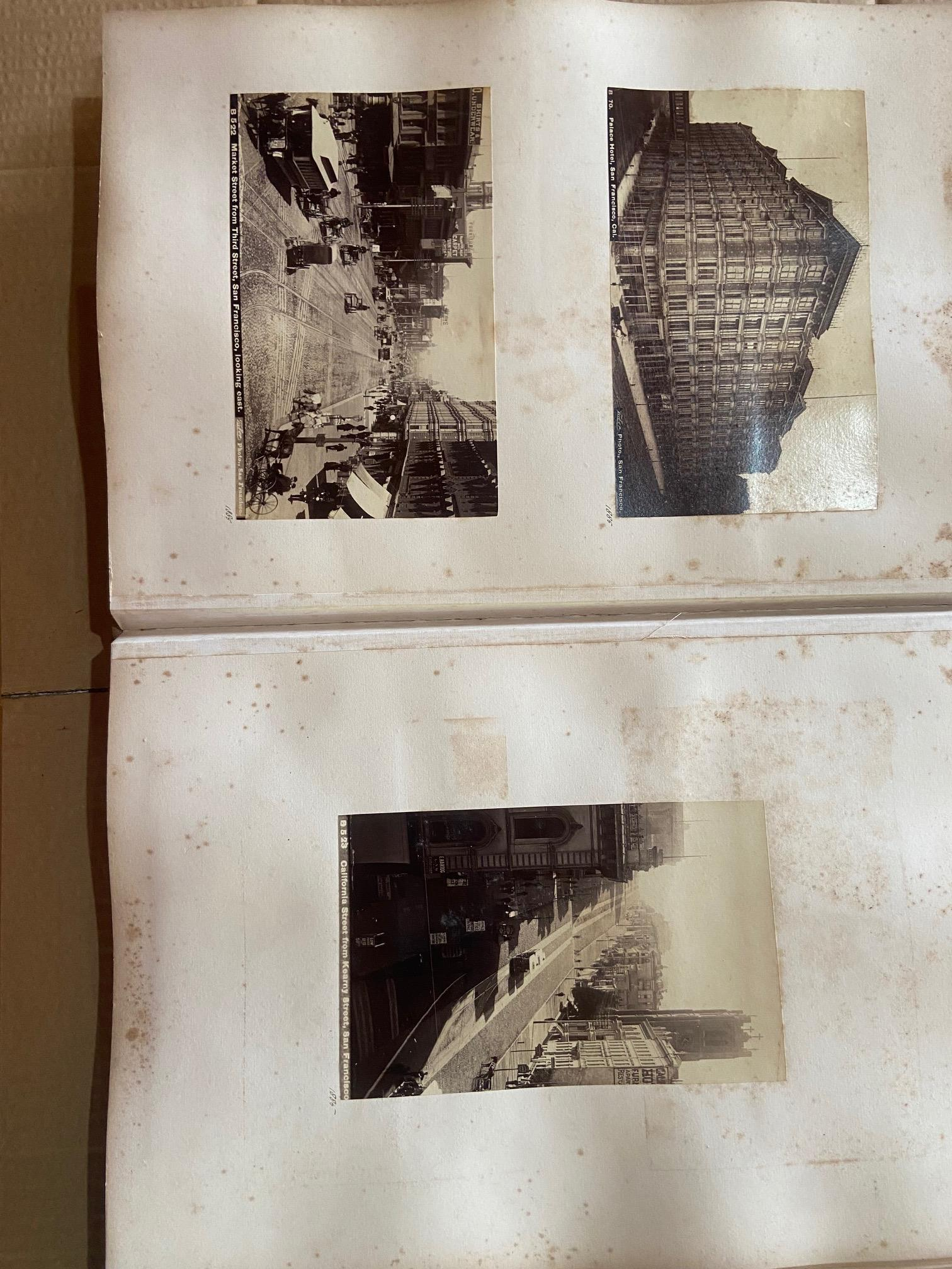 Photographs: Two large folio Albums of Photographs, each c. 1870 - 1890's. One Album contains - Image 18 of 31