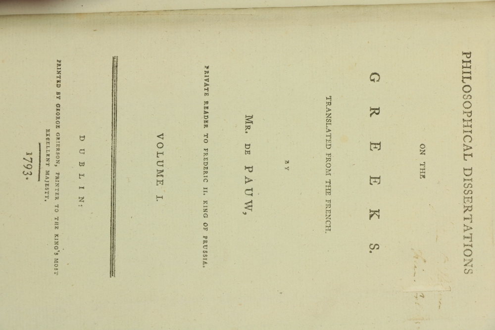 Leake (Lt. Col. W.M.)The Topography of Athens with Some Remarks on its Antiquities, 8vo L. 1821. - Image 2 of 3