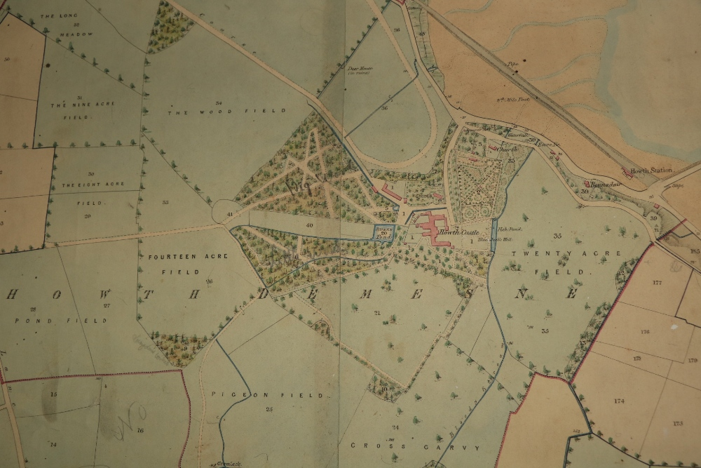 Irish Map: Map of the Howth Estate of the Right Honorable the Earl of Howth, situate in the - Image 4 of 4