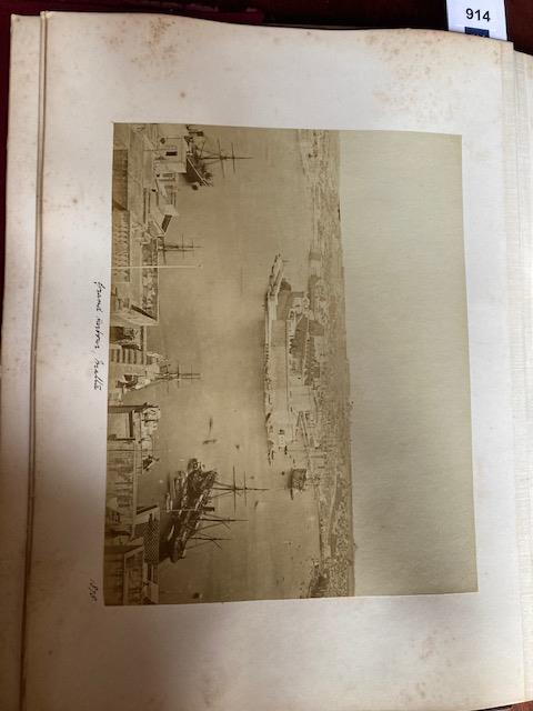 Photographs:ÿ A very good Album of original Photographsÿof various sizes, of travels by a member - Image 24 of 27