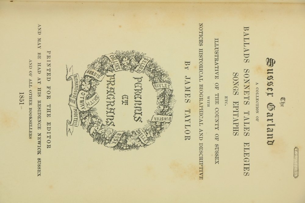 [Ford (Rev. James)] Editor.ÿThe Suffolk Garland: or A Collection of Poems, Songs, Tales, Ballads, - Image 3 of 5