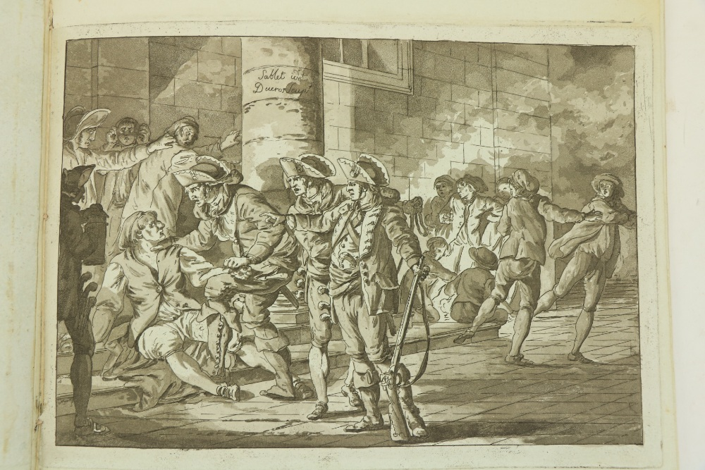 Italian Plates: Sablet (J.)An Album of 9 plates, Roman Scenes, engraved by C. Dueros, oblong - Image 2 of 2