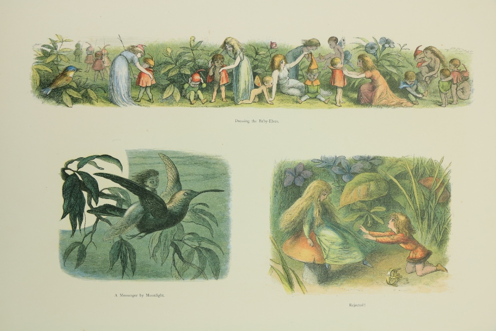 With Coloured Plates Doyle (Richard)In Fairyland, A Series of Pictures from the Elf World,Lg. - Image 2 of 3