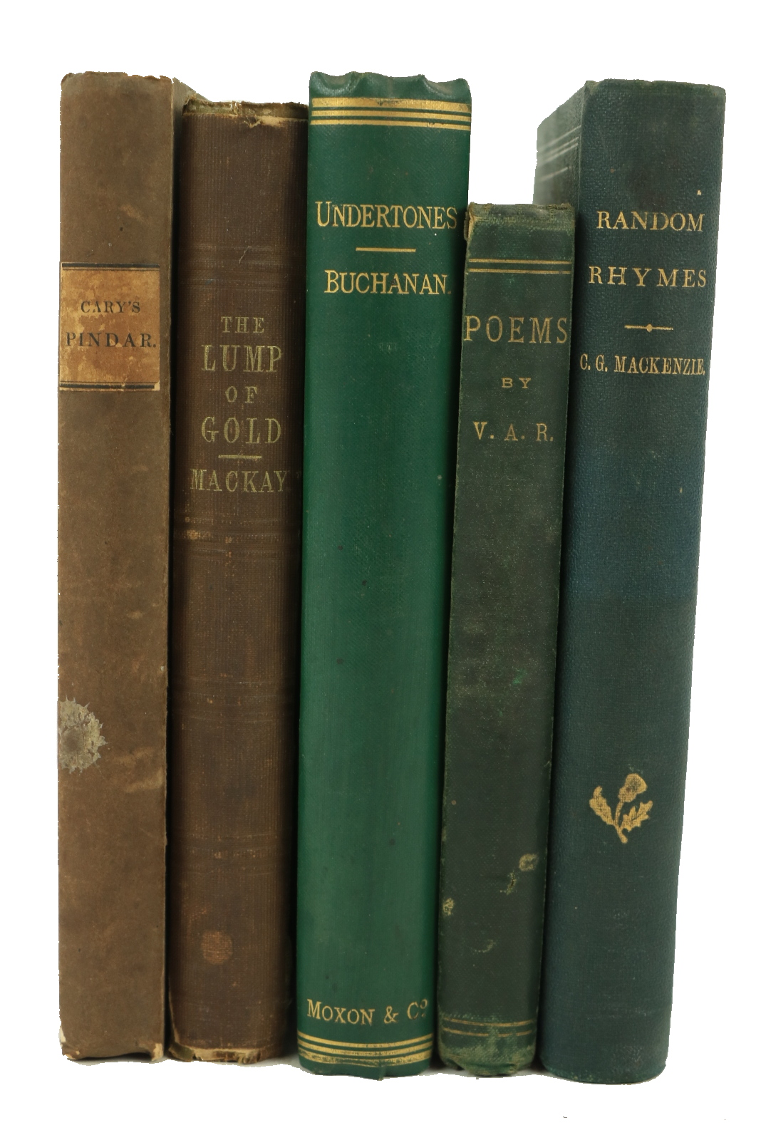 All First Editions Scarce English Poetry: Cary (Rev. H. Francis)Pindar in English Verse, 12mo