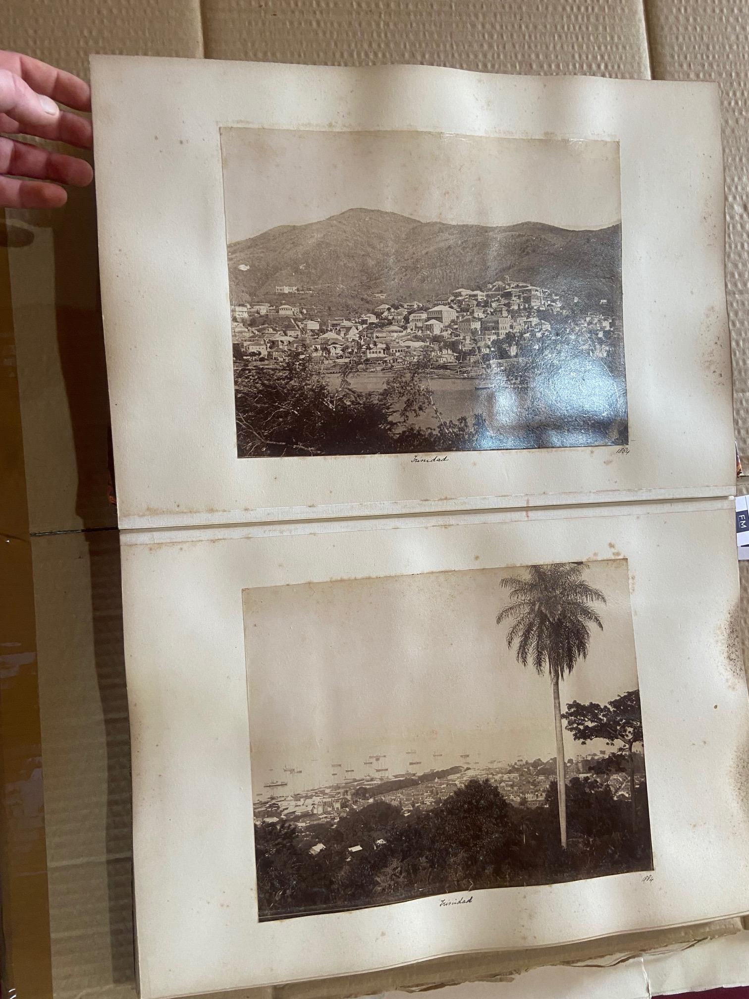 Photographs: Two large folio Albums of Photographs, each c. 1870 - 1890's. One Album contains - Image 25 of 31