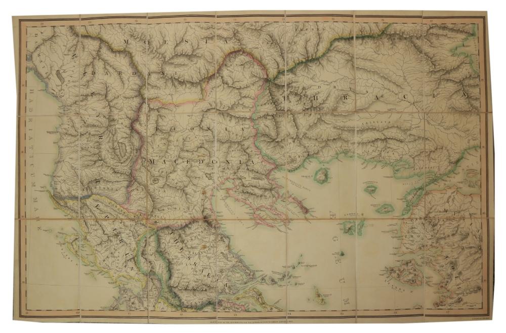 Maps: Cramer (J.A.) & Parker (Joseph) PublisherGraecia Antiqua et Nova una cum Insulis - Image 2 of 5