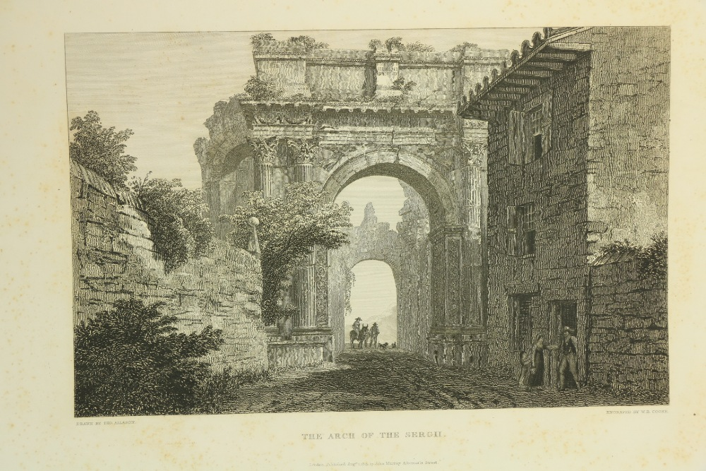 Allaston (Thos.)Arch.ÿPicturesqueÿviews of the Antiquities of Pola in Istria, lg. Atlas folio - Image 2 of 3