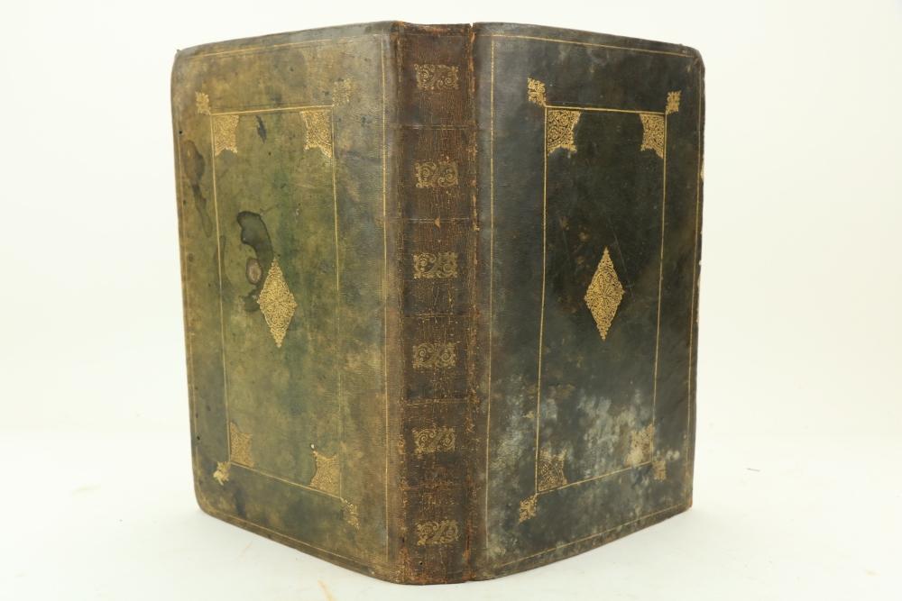Binding: [Hobbs (Thomas)]ÿThe History of Thucydides, folio London c. 1629. Lacks title page, 2 lg.