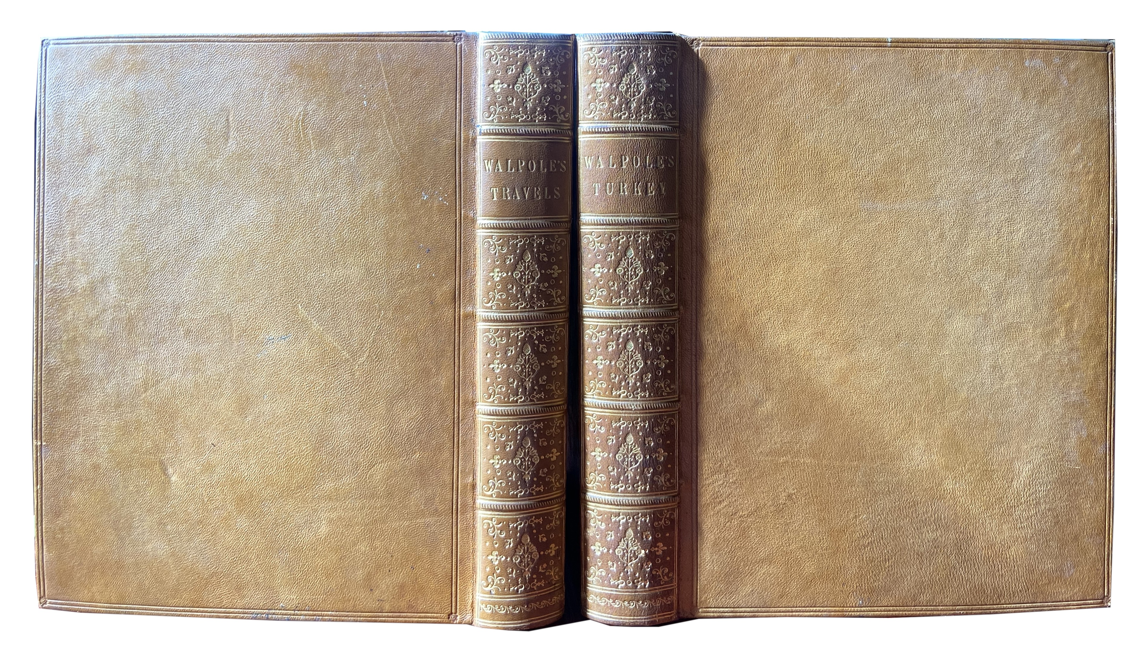 Walpole (Robert)ÿMemoirs Relating to European and Asiatic Turkey, lg. 4to Lond. 1817. Vignette