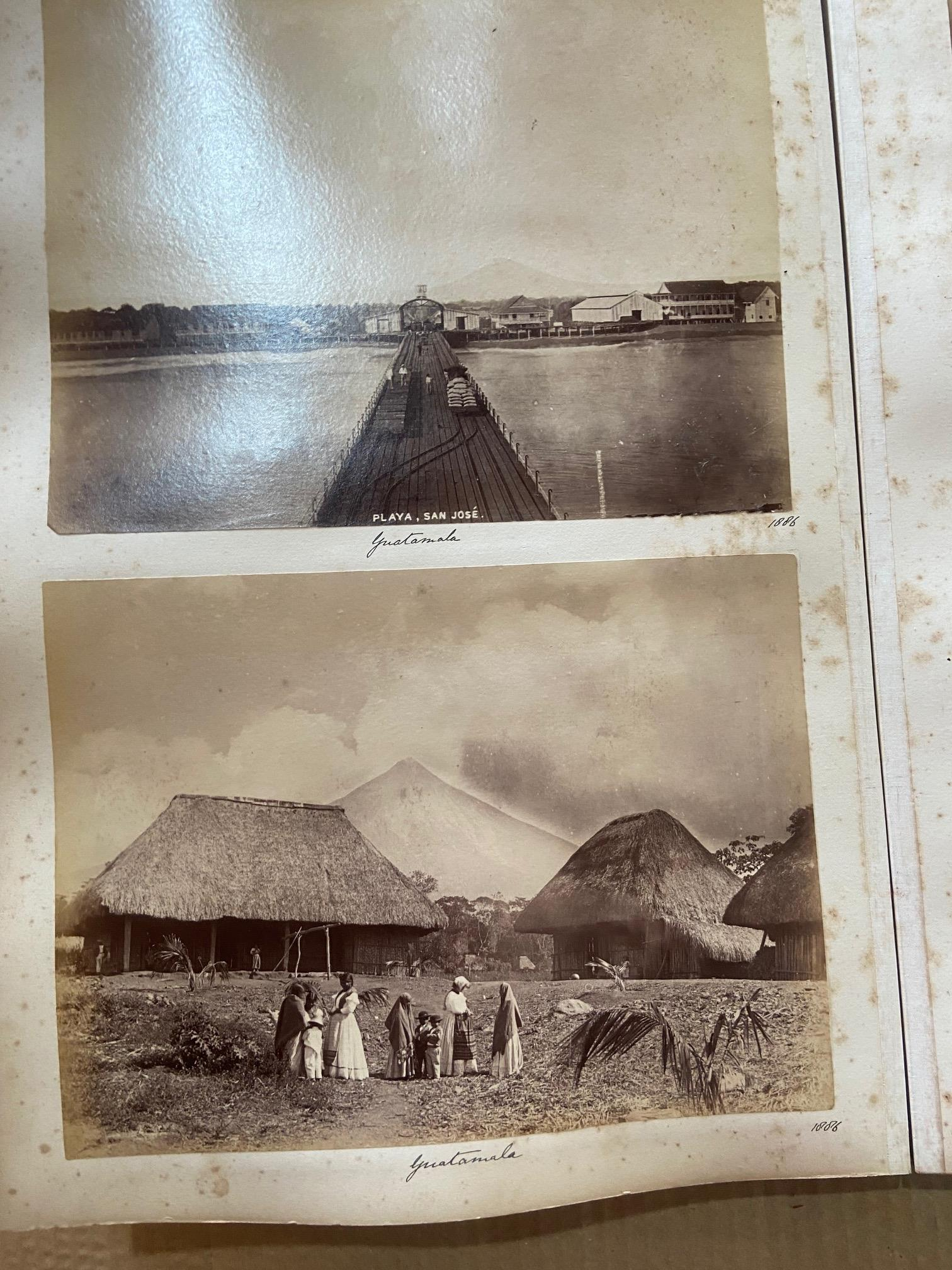 Photographs: Two large folio Albums of Photographs, each c. 1870 - 1890's. One Album contains - Image 9 of 31