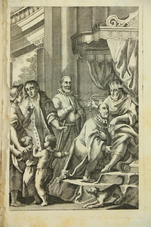 Italian Poetry: [Volpi (G.A.)]Le Rime d'Angelo di Costanzo, Cavaliere Napoletano, 8vo Padua - Image 2 of 2