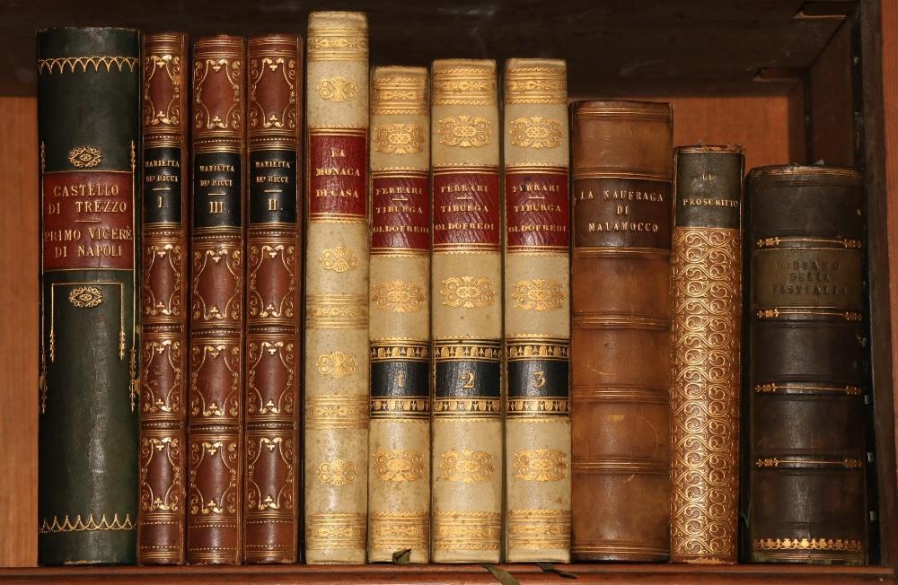 Italian Literature: Ademollo (Agostino)Marietta de Ricci ouvero Eirenze al tempo dell Assedio