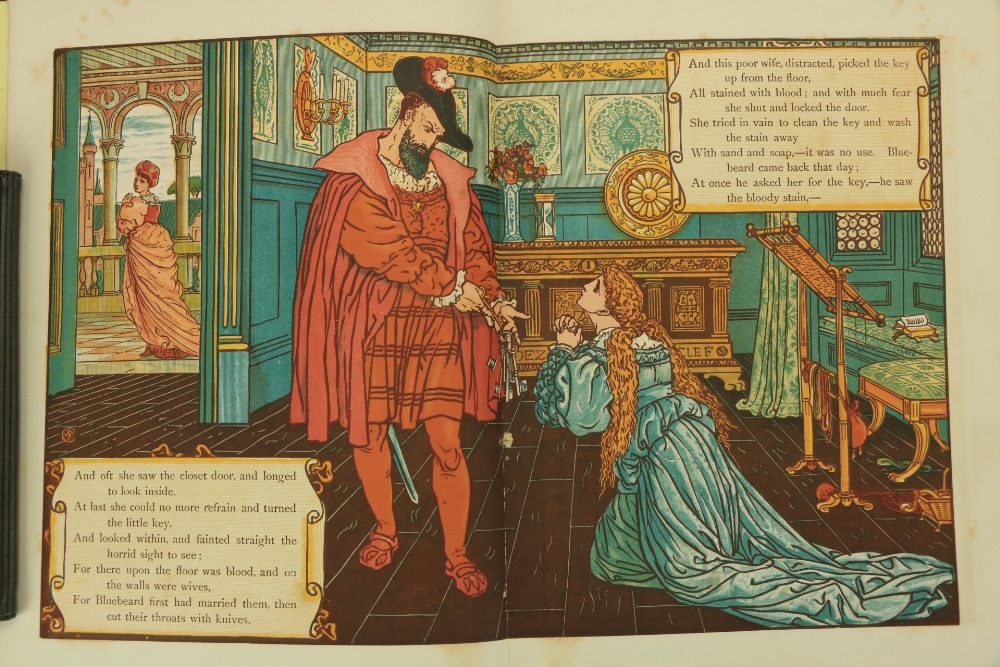Juvenalia:ÿWalter Crane's Toy Books,ÿNew Series, 4to Lond. (Geo. Routledge) n.d. Containing, - Image 2 of 5