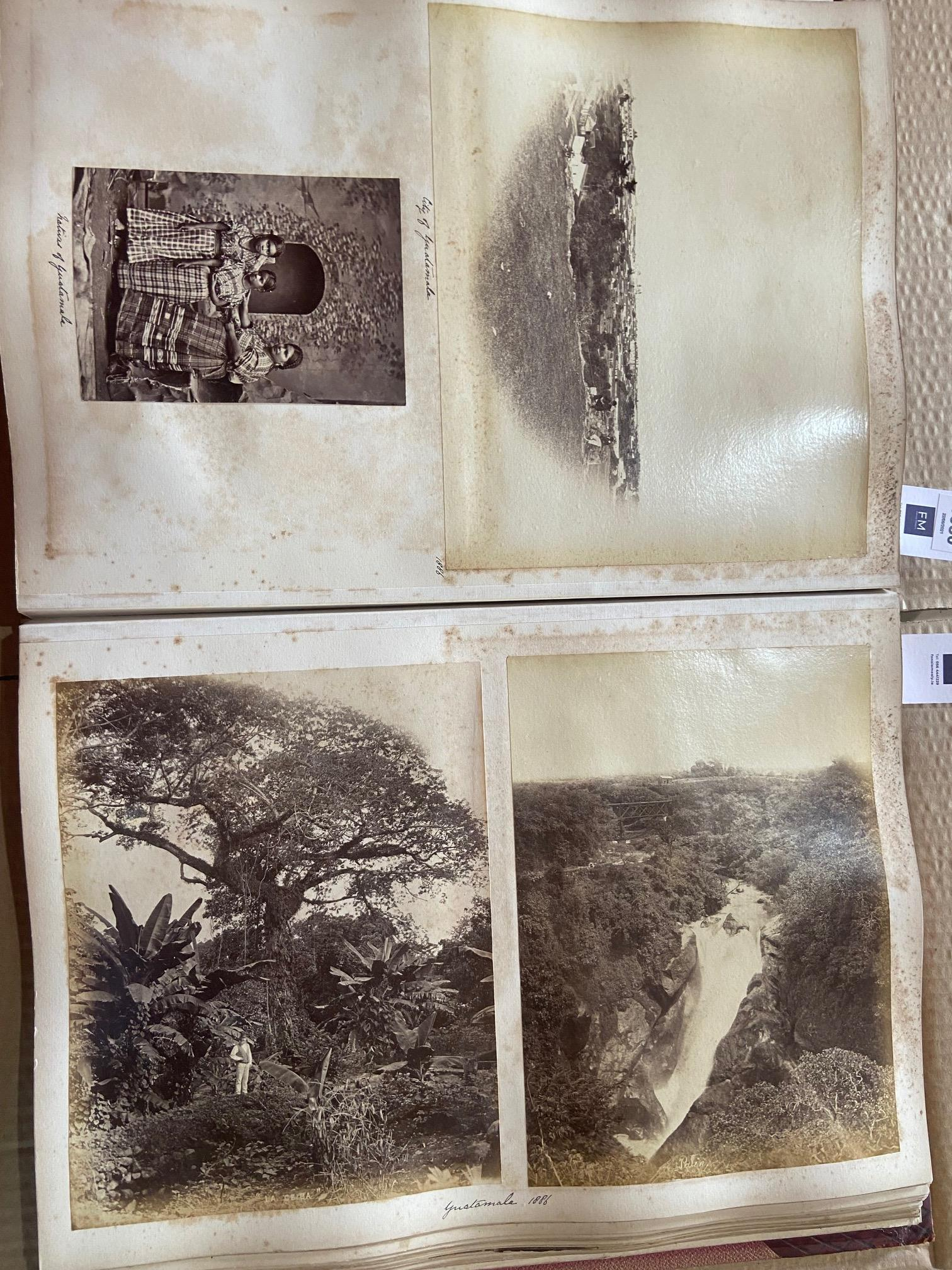 Photographs: Two large folio Albums of Photographs, each c. 1870 - 1890's. One Album contains - Image 10 of 31