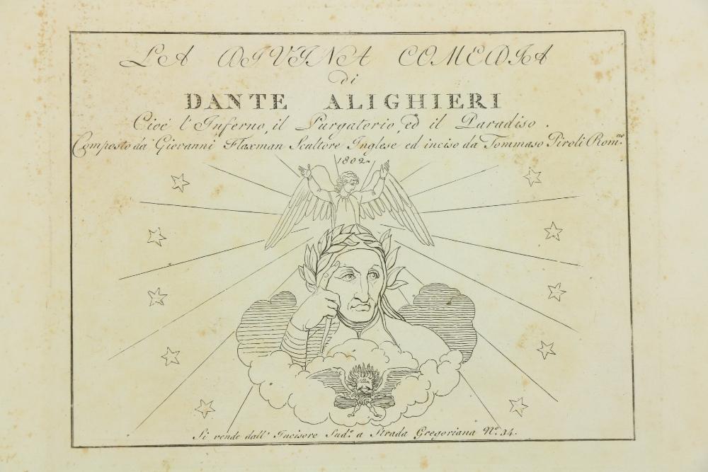 Flaxman Illustrations Dante -La Divina Comeodia di Dante Alighieri cioe l'Inferno, il Purgatorio,