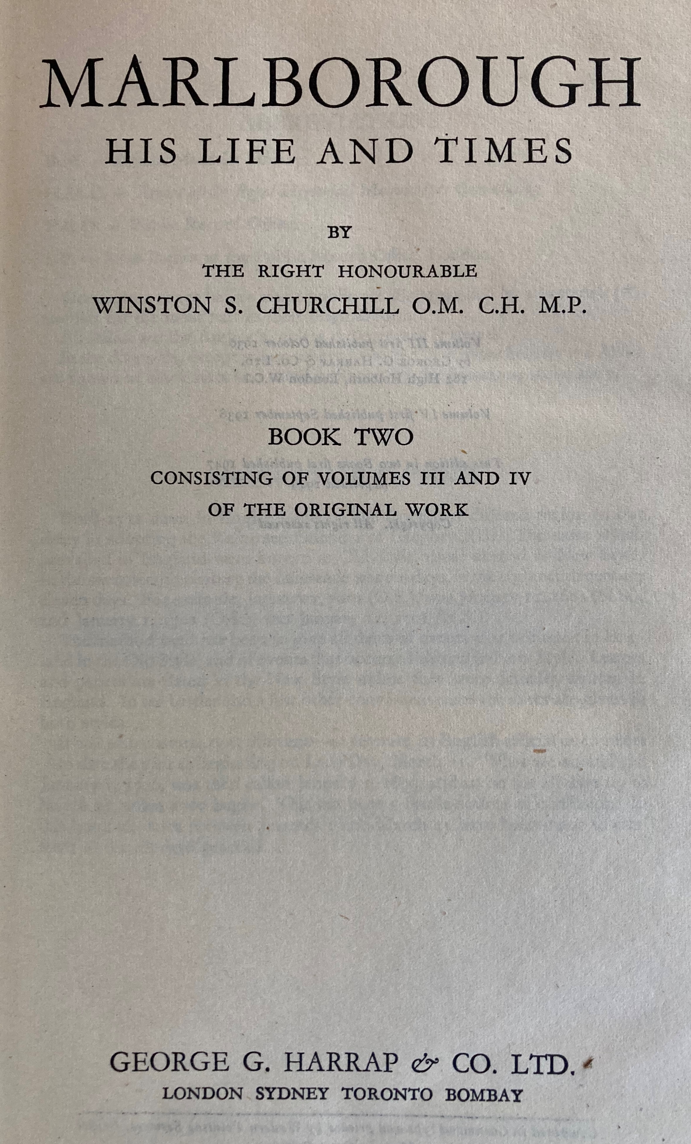 Signed by the Authorÿ Churchill (Winston S.)ÿTheir Finest Hour, Second World War, Vol. II only, - Image 3 of 22