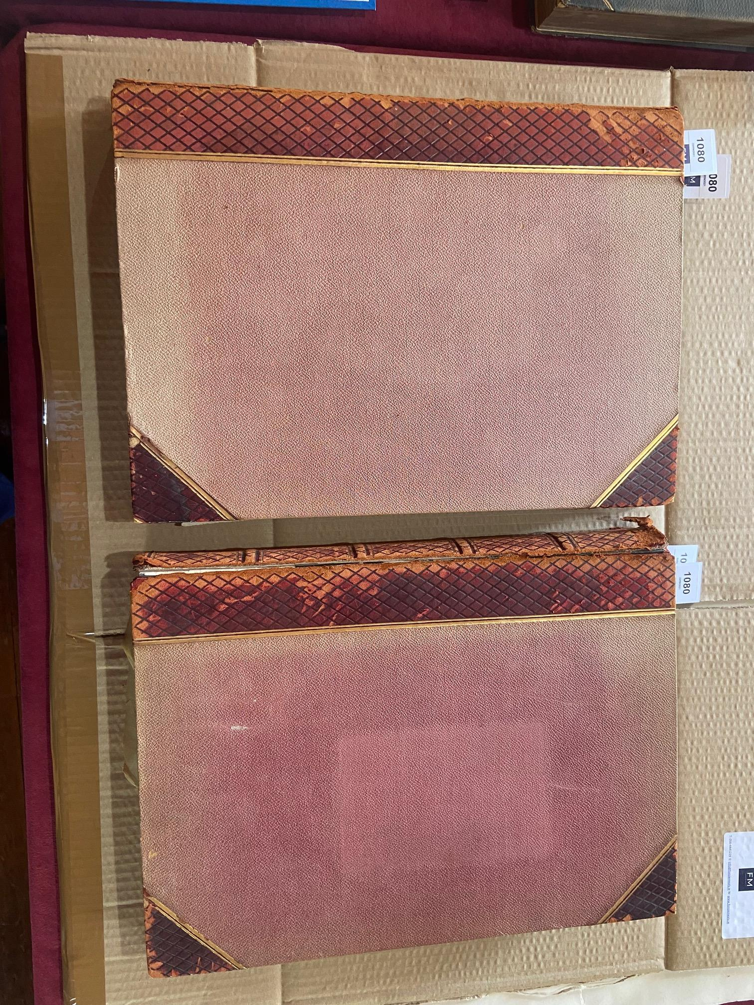 Photographs: Two large folio Albums of Photographs, each c. 1870 - 1890's. One Album contains - Image 31 of 31