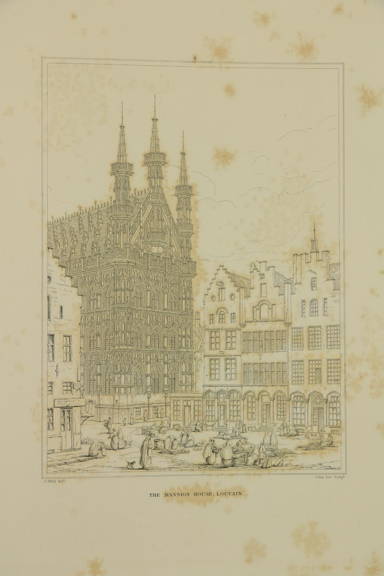 Wild (Charles)ÿSelect Examples of Architectural Grandeur in Belgium, Germany and France, Lg. folio - Image 6 of 6