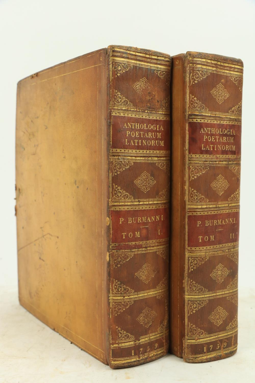 Burmann (Petri)ÿAnthologia Veterum Latinorum Epigrammatum et Poematum, 2 vols. lg. 4to Amsterdam (