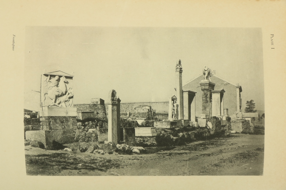 Gardner (Percy)Sculptured Tombs of Hellas, sm. folio L. 1896.First Edn., hf. title, frontis & 29 - Image 2 of 3