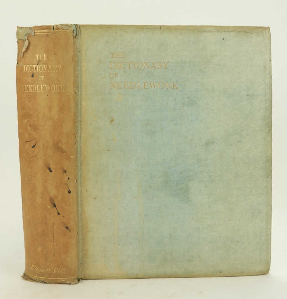 Caulfield (S.F.A.) & Seward (B.C.)TheDictionary of Needlework, thick 4to Lond. n.d.Second Edn.,