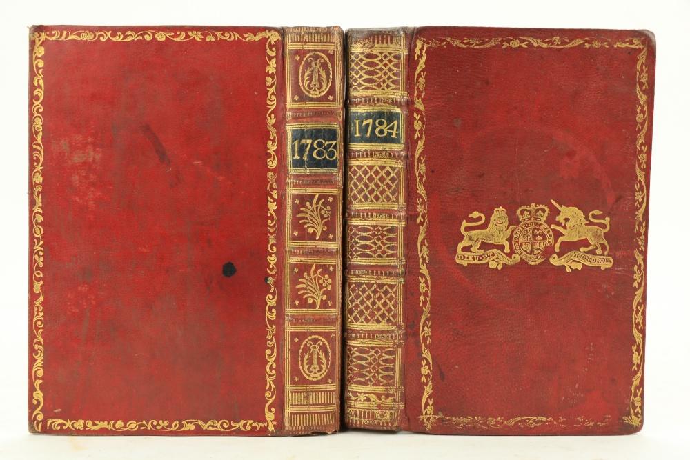 In Fine Contemporary Irish Bindingsÿÿ Almanacs etc:ÿ Watson (Samuel)ÿThe Gentleman's and Citizen's