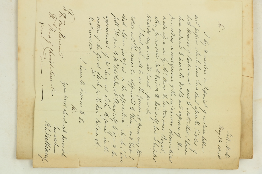 For Private Circulation Only, Signed Presentation Vuilliamy (B.L.)A Portion of the Papers Relating - Image 2 of 2