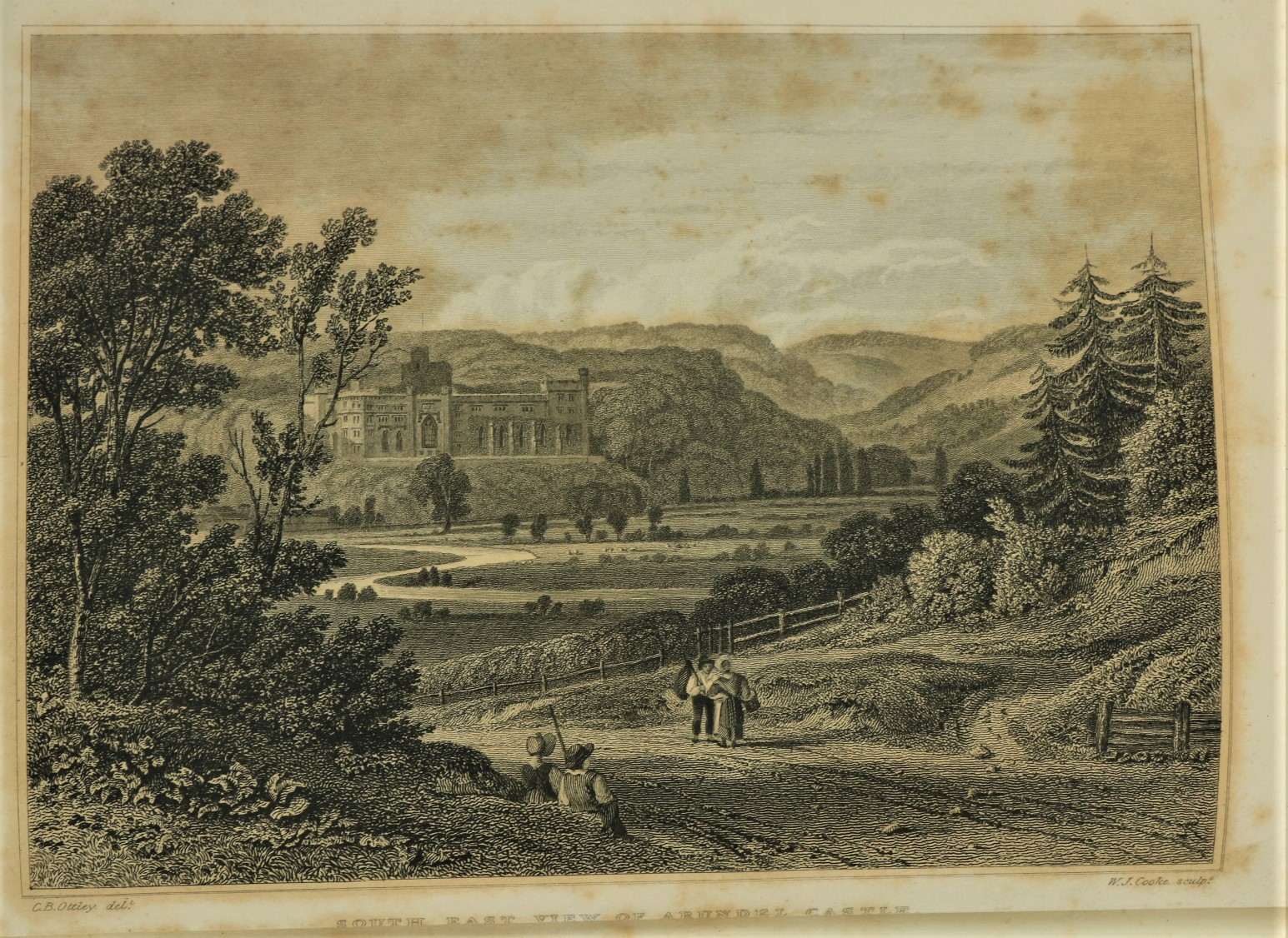Tierney (Rev. M.A.)ÿTheÿHistory and Antiquities of the Castle and Townÿof Arundel, 2 vols. sm. folio - Image 3 of 3