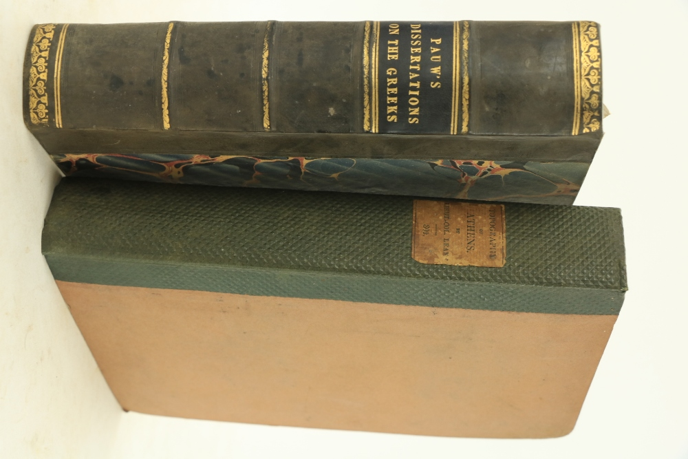 Leake (Lt. Col. W.M.)The Topography of Athens with Some Remarks on its Antiquities, 8vo L. 1821. - Image 3 of 3