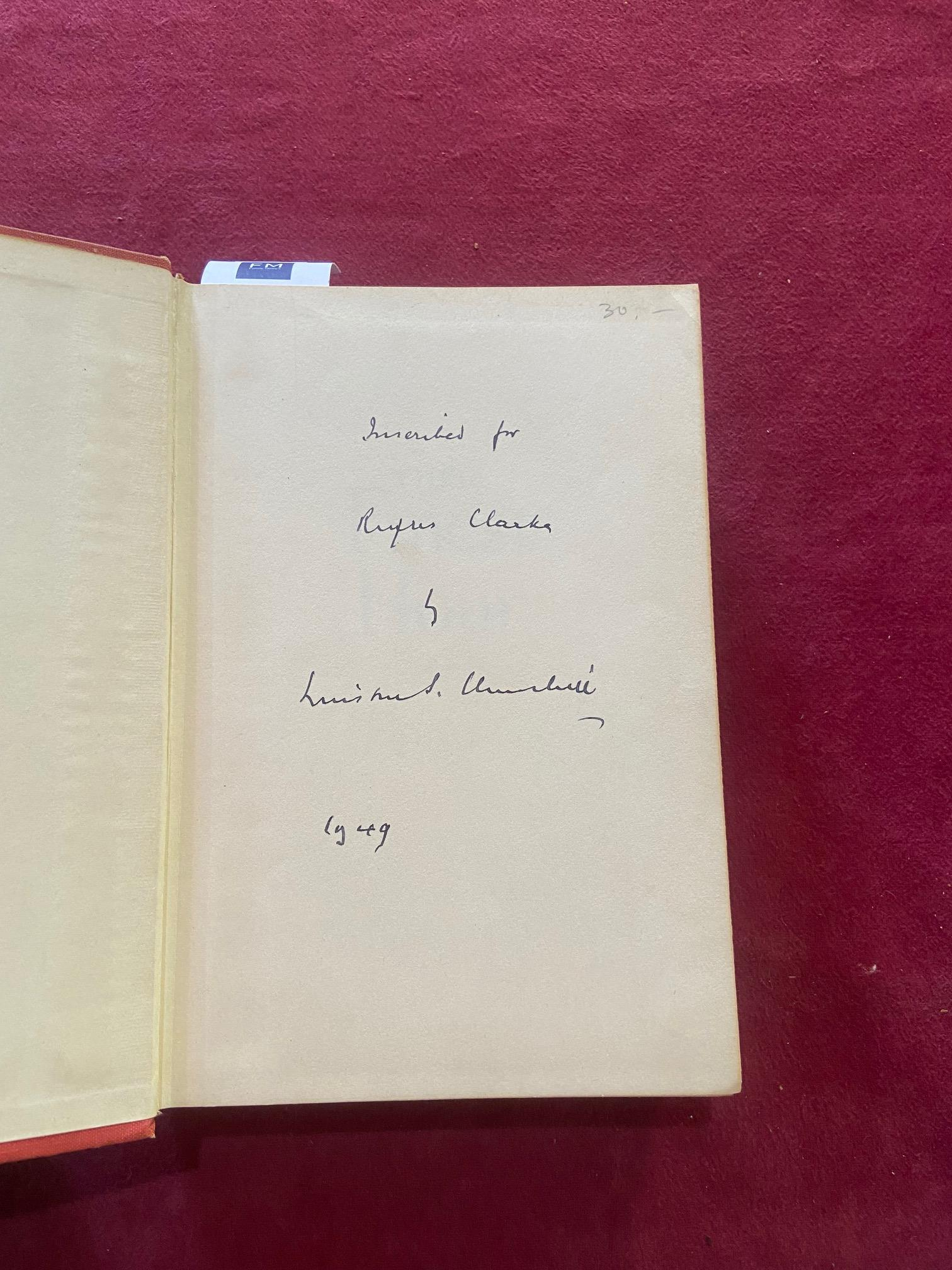 Signed by the Authorÿ Churchill (Winston S.)ÿTheir Finest Hour, Second World War, Vol. II only, - Image 18 of 22