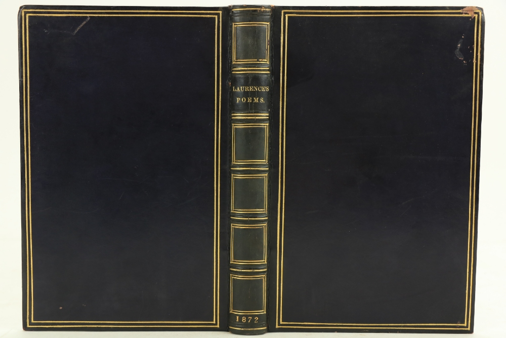 Scarce Irish Poetry Collectionÿ Laurence -ÿ Poetical Remains of French Laurence, D.C.L., M.P. and