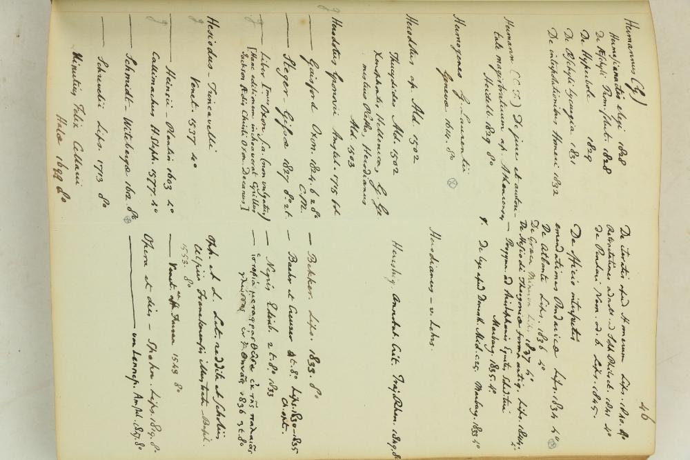 Unique Manuscript Book Catalogue Manuscript:ÿÿGaisford (Thomas)ÿÿBibliotheca Gaisfordiana, Catalogue - Image 2 of 3