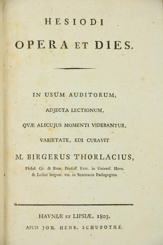 Greek Texts:ÿ Casauboni (Isaac)ÿDe Satyrica Graecorum Poesi et Romanorum Satira Libri Duo, 8vo 1774, - Image 3 of 7
