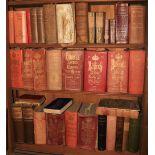 Genealogy: Three shelves, Burke's, Debretts, Lodges etc., approx. 38 vols. varied, and including