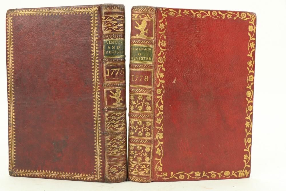 In Fine Contemporary Irish Bindingsÿ Almanacs etc: Watson (Samuel)ÿThe Gentleman's and Citizen's