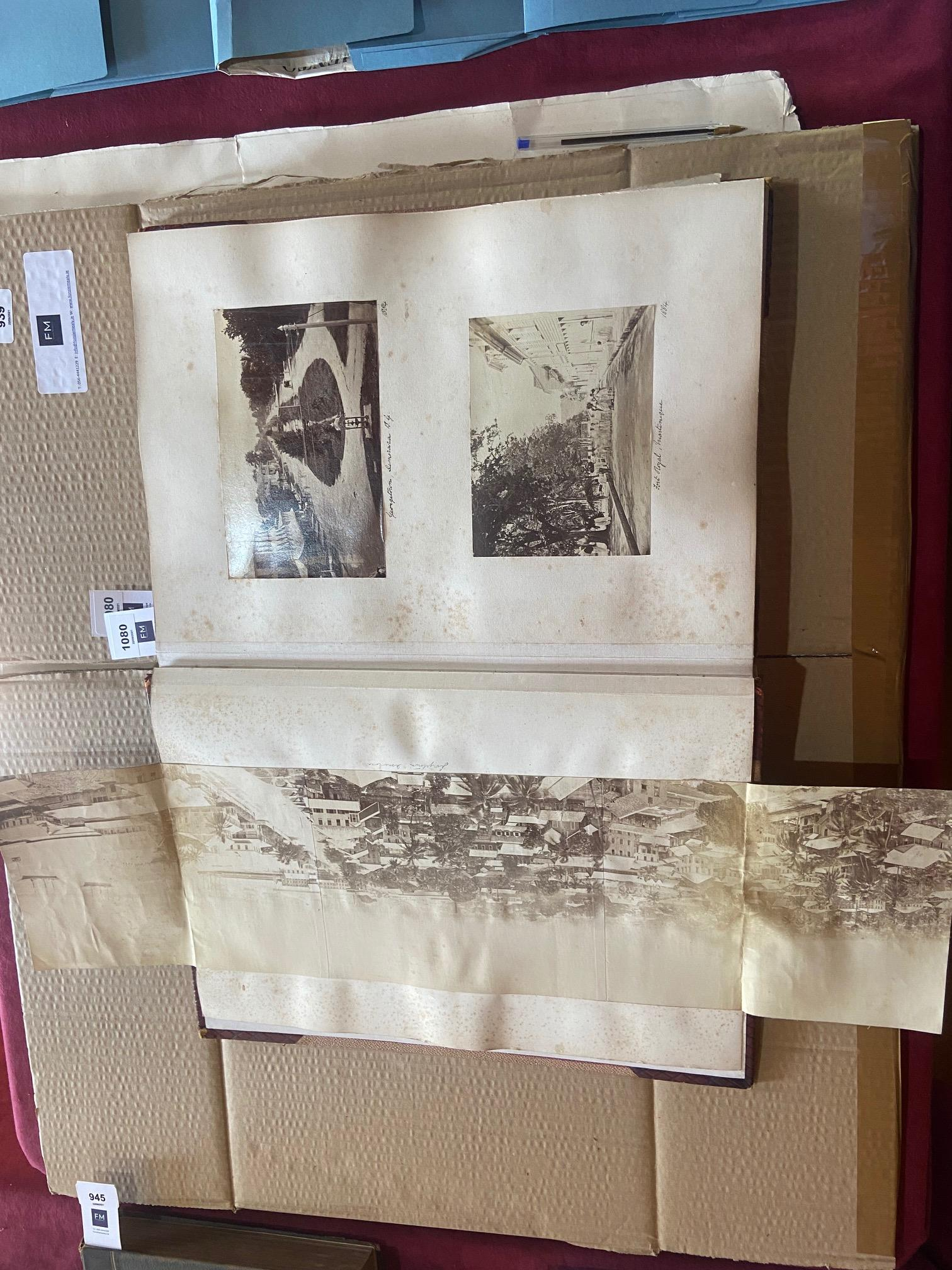 Photographs: Two large folio Albums of Photographs, each c. 1870 - 1890's. One Album contains - Image 26 of 31