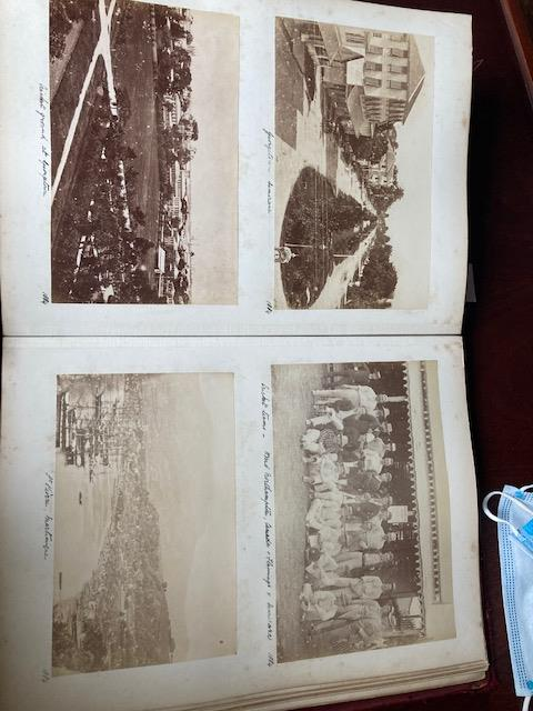 Photographs:ÿ A very good Album of original Photographsÿof various sizes, of travels by a member - Image 6 of 27