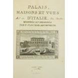 Clochar (P.)ÿPalais, Maisons et Vues D'Italie, Mesures et Dessines. Lg. folio Paris (a La
