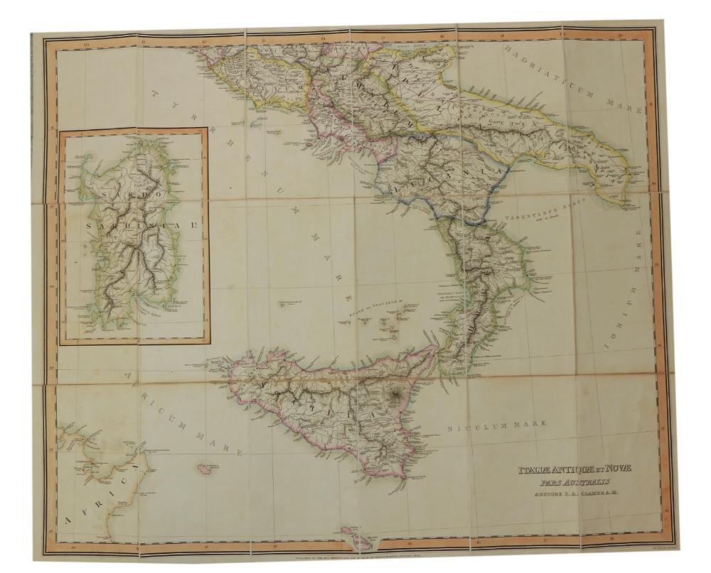 Maps: Cramer (J.A.) & Parker (Joseph) PublisherGraecia Antiqua et Nova una cum Insulis - Image 4 of 5