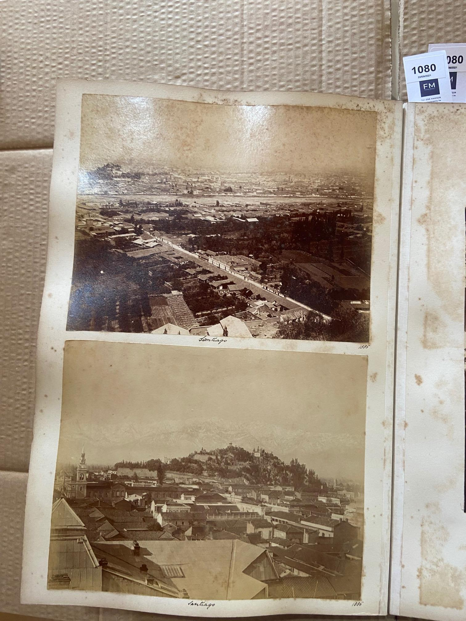 Photographs: Two large folio Albums of Photographs, each c. 1870 - 1890's. One Album contains - Image 22 of 31