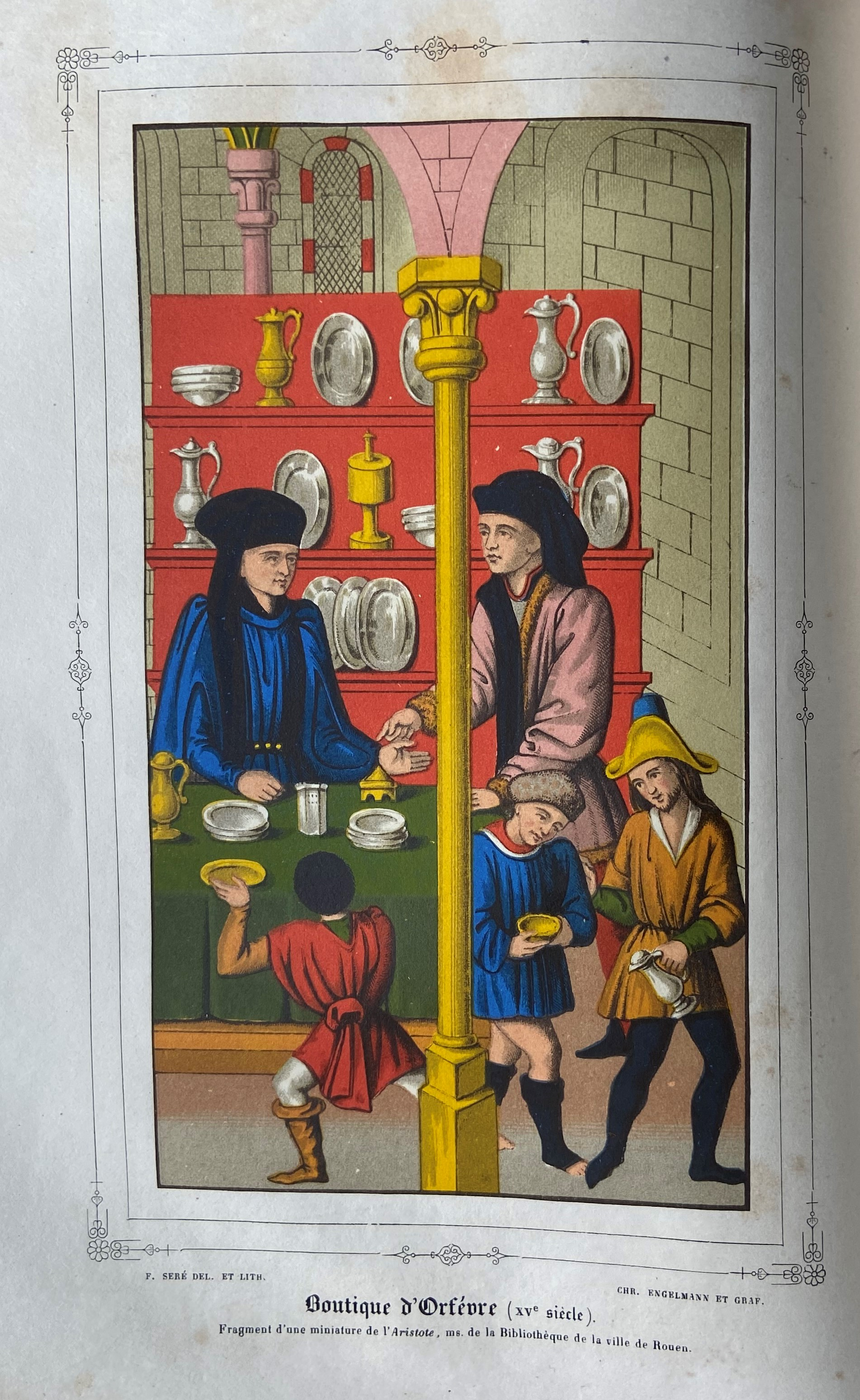 Fauriel (M.C.)ÿHistoire de la Croisade contre les Heratiques Albigeois, ... Lg. 4to Paris (Imprim. - Image 2 of 2