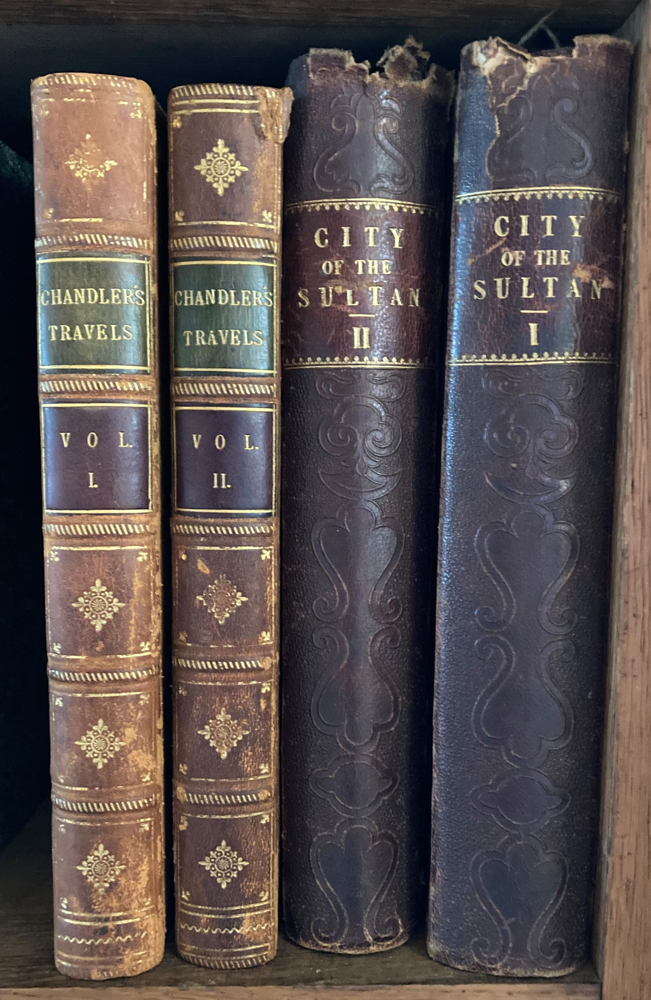 Chandler (Richard)ÿTravels in Asia Minor and Greece, 2 vols. Oxford (Clarendon Press) 1825.ÿNew - Image 3 of 3