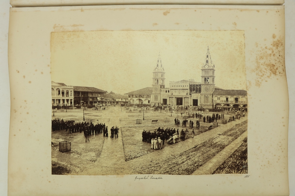 Photographs: Two large folio Albums of Photographs, each c. 1870 - 1890's. One Album contains - Image 2 of 31