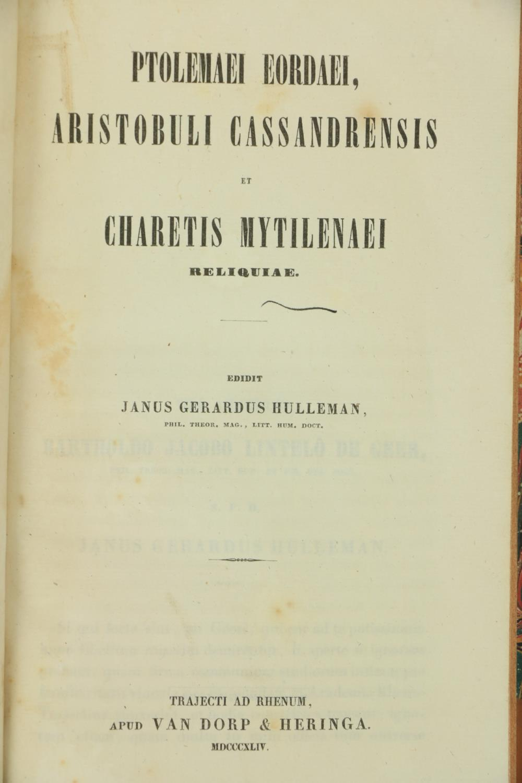 Greek Texts:ÿ Casauboni (Isaac)ÿDe Satyrica Graecorum Poesi et Romanorum Satira Libri Duo, 8vo 1774, - Image 2 of 7